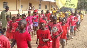 FR – School Parade at Sahn Malen (SAC – Sierra Leone)