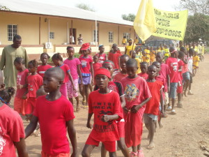School Parade at Sahn Malen - Sierra Leone