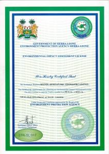 Enviromental License 2014