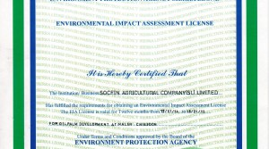 EN – Environmental Impact Assessment Licence